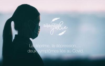 La déprime, la dépression …. deux symptômes liés au Covid.